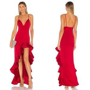 Lovers + Friends Aahmani Gown / Dress Red XS - NWT